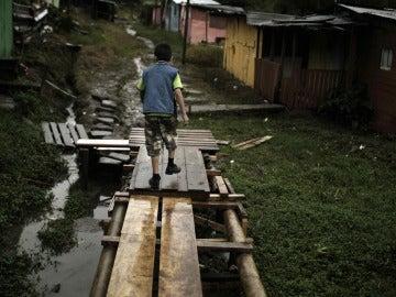 Pobreza infantil en el mundo