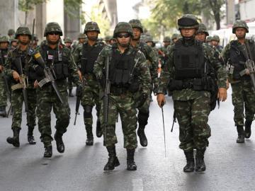 Fuerzas de seguridad tailandesas