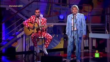 El grupo 'Jorge Javier' pone fin a la segunda temporada de En el aire con su canción