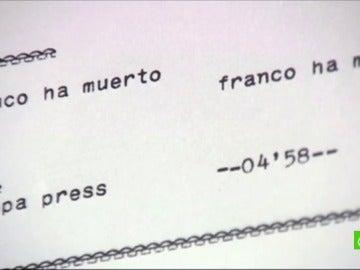 """Marcelino Martín, periodista que confirmó la muerte de Franco: """"Se te secaba la boca"""""""