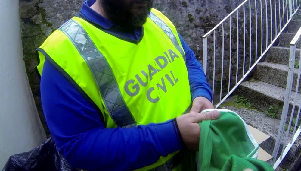 La Guardia Civil incauta ropa falsificada