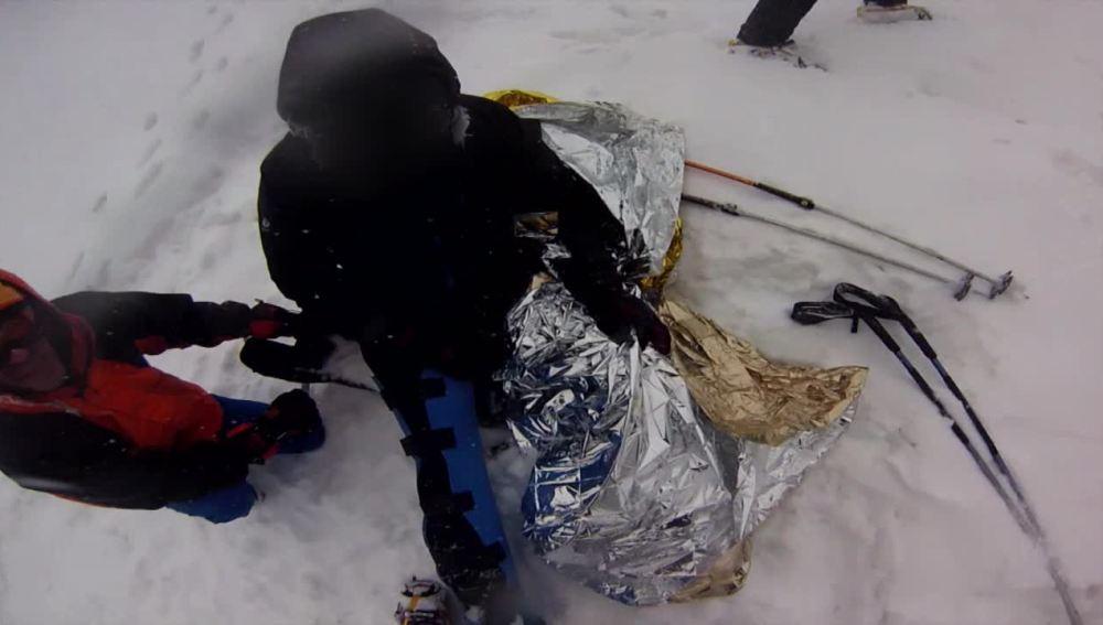 La Guardia Civil localiza a un montañero herido