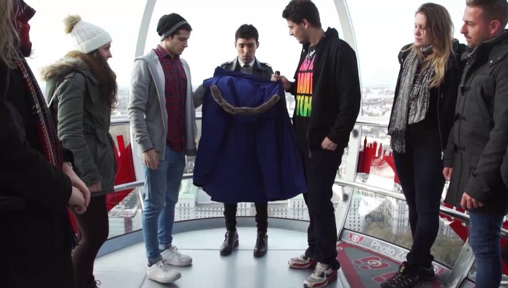 El Mago Pop desaparece en el London Eye