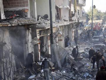 Tras cinco años de guerra civil, Siria necesitaría 20 años y 200.000 millones de euros para reconstruirse