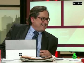 """La ironía de Francisco Marhuenda: """"A Podemos a lo mejor sí voto, a Izquierda Unida no"""""""