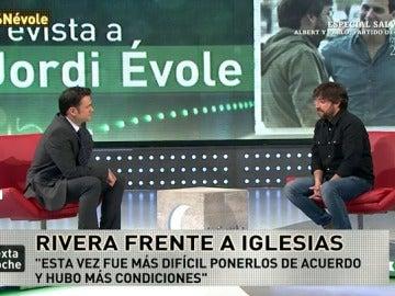 """Jordi Évole: """"Ciudadanos no quería repetir el debate con Iglesias en un bar"""""""