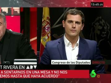 """Albert Rivera: """"Si yo le pedí algo a De Alfonso fue que luchara contra la corrupción"""""""