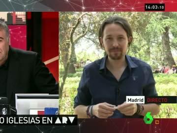 """Iglesias: """"Rajoy debería ir a 'El Objetivo' o a 'La Familia Pregunta' y someterse a entrevistas que no sean masajes"""""""