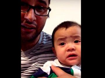 El llanto viral de un bebé