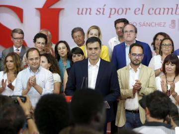 """Pedro Sánchez: """"Somos la primera fuerza política de la izquierda, pero no estoy satisfecho"""""""