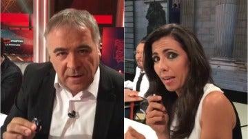 Antonio García Ferreras y Ana Pastor