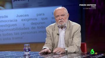 """Martín Pallín, sobre las grabaciones a Fernández Díaz: """"Es deprimente la baja calidad democrática de este país"""""""
