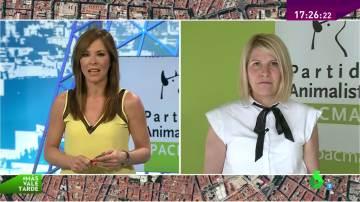 """Silvia Barquero: """"Hemos conseguido que se prohíba el Toro de la Vega y queremos entrar en las instituciones"""""""