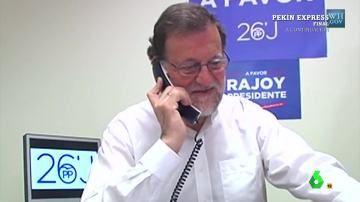 Rajoy cuelga a Obama tras varios intentos para entender su perfecto inglés