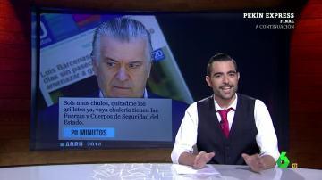 """La evolución de Bárcenas a 'macarra': """"Hay un Luis Bárcenas A y un Luis Bárcenas B"""""""