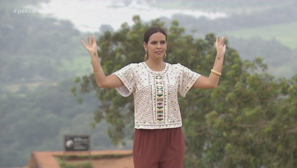 Cristina Pedroche en 'Pekín Express'