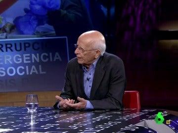 """Emilio Lledó: """"Decían filósofos griegos que había que evitar que el político corrupto tuviera poder"""""""