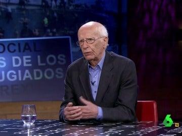 """Emilio Lledó, sobre los refugiados: """"Nadie explica el porqué de la guerra, ese es el problema"""""""