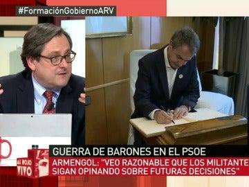 """Marhuenda: """"A mí me cae bien Zapatero, aunque mis lectores se enfaden"""""""