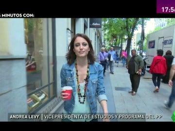 """Conoce a la Andrea Levy más personal en tres minutos: """"Desayuno habitualmente con Pablo Casado"""""""