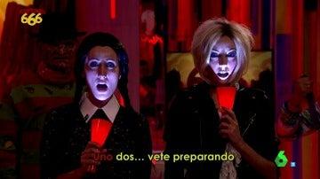 """La canción de Miércoles Morgade y Tiffany Simon: """"Esta noche soñareis con Zapeando 666"""""""