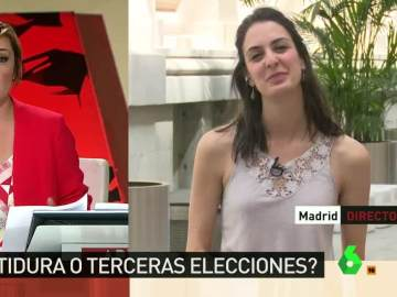 """Rita Maestre: """"Está muy lejano el escenario de una nueva negociación con el PSOE"""""""