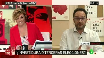 """Antonio Hernando: """"A Mariano Rajoy le corresponde no descansar ni un minuto"""""""