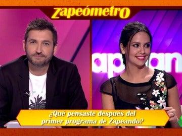 """La propuesta más loca del Zapeómetro a Frank Blanco: """"Para el programa 1000, desnudo"""""""