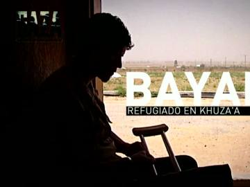 """Bayan, refugiado en Khuza'a: """"Como joven en Gaza, vivo sin futuro, pero estoy decidido a luchar por nuestros derechos"""""""