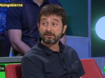 """Rafael Mayoral: """"Nosotros vamos a estar con los trabajadores que no se van a entregar al Ibex35 ni a Merkel"""""""