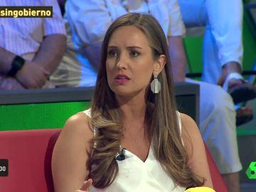 """Melisa Rodríguez: """"El PSOE y el PP no son tan diferentes porque negocian con los independentistas"""""""