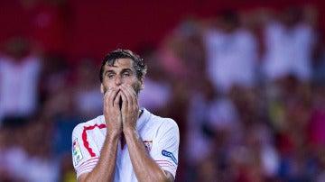 Fernando Llorente se queda sin gira con el Sevilla