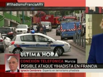 """Cembrero: """"Francia debe combatir el terrorismo reforzando la cooperación entre sus servicios de Inteligencia"""""""