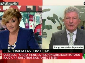 """Pedro Quevedo: """"Con la investidura de Sánchez el PP no tuvo esa responsabilidad que ahora tanto reclama"""""""