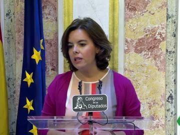 Gobierno, PP y Ciudadanos censuran la actitud de Junts pel sí y la CUP