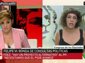 """Alexandra Fernández, de En Marea: """"Sí hay alternativa al PP y a nuevas elecciones, es cuestión de voluntad política"""""""