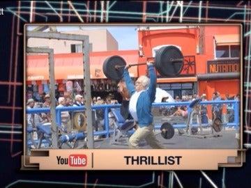 El anciano que humilla a deportistas levantando pesas, nuevo viral de Top Trending Tele