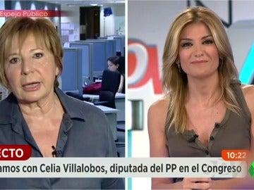 """Así españoliza Celia Villalobos las elecciones de EEUU: """"Si fuera americana, votaría a Hilaria Clinton"""""""