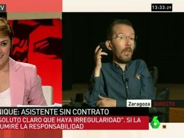 """Pablo Echenique: """"No está claro que haya cometido una irregularidad, pero si la hay asumiré la sanción"""""""