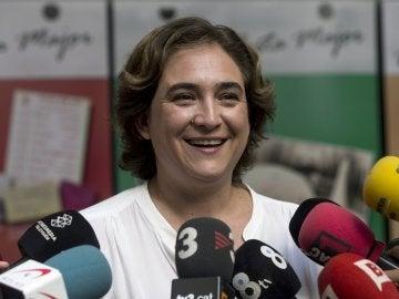 La alcaldesa de Barcelona, Ada Colau,