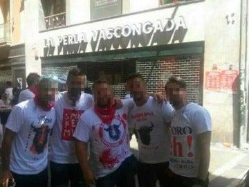 Los cinco detenidos por violación en San Fermín