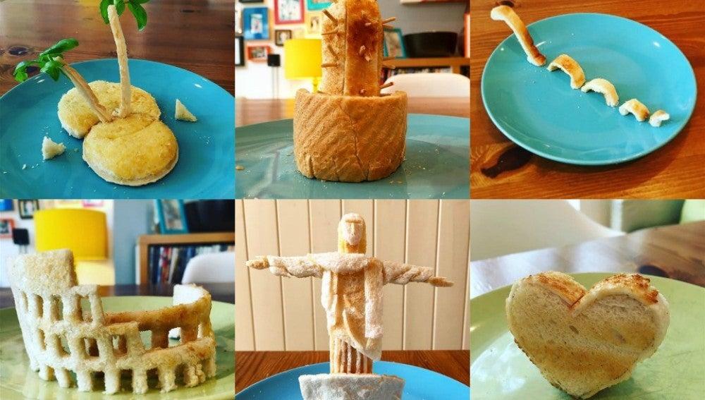 El desayuno creativo que un padre hace a sus hijas cada mañana