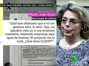 María José Alcón amañaba los concursos meses antes de las adjudicaciones