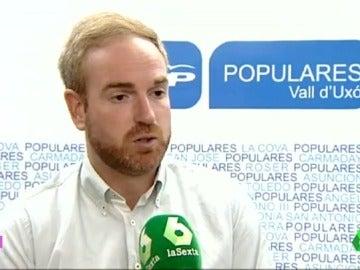 """Óscar Clavell: """"Haré lo que el partido me pida, estoy a la entera disposición del Partido Popular"""""""
