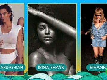 ¿Quién es la mujer más sexy del verano: Kim Kardashian, Irina Shayk o Rihanna?