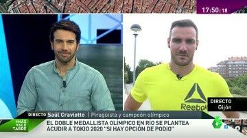 """Saúl Craviotto, doble madallista olímpico y policía: """"Del piragüismo no se puede vivir, es muy difícil"""""""