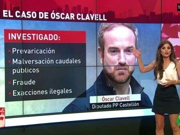 ¿Quién es Óscar Clavell? El diputado popular imputado que tensa la negociación entre C's y el PP