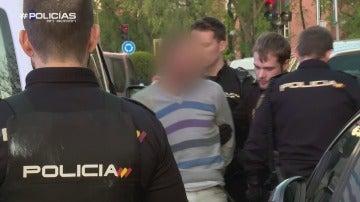 El detenido por presuntos malos tratos