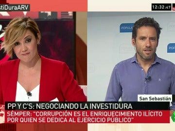 """Borja Sémper: """"Por la dimensión del caso, Barberá haría un favor al PP y a ella misma dando un paso atrás"""""""