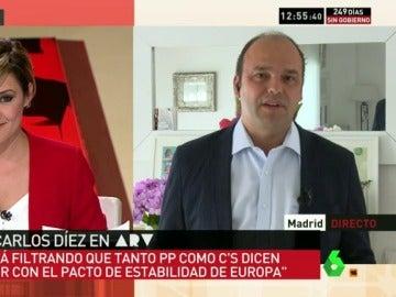 """José Carlos Díez, analiza la economía: """"Rajoy sigue haciendo chapuzas para corregir el déficit"""""""